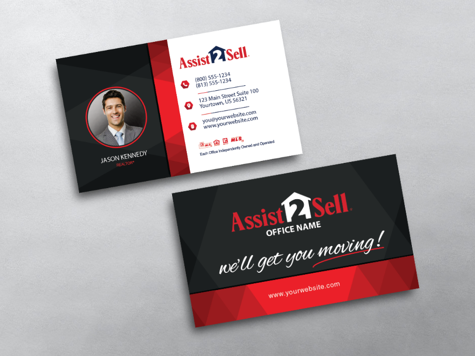 Order Assist 2 Sell Business Cards   Free Shipping   Design ...